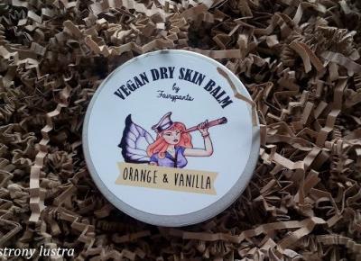 Fairypants balsam do skóry suchej pomarańcza&wanilia; | Z mojej strony lustra - blog kosmetyczny