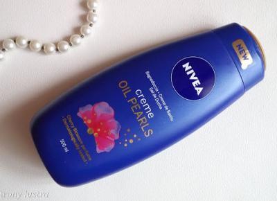 Nivea żel pod prysznic Oil Pearls Cherry Blossom | Z mojej strony lustra - blog kosmetyczny