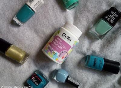 Delia Zmywacz do paznokci w gąbce (do zwykłych lakierów) | Z mojej strony lustra - blog kosmetyczny