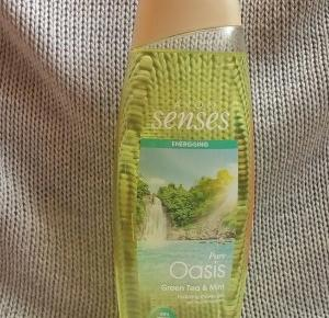 Z mojej strony lustra: Żel pod prysznic Avon Senses Pure Oasis Zielona herbata i mięta