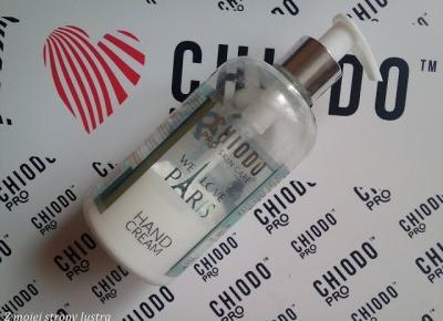 Z mojej strony lustra: ChiodoPRO Perfumowany krem do rąk We Love Paris