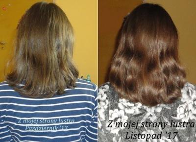 Z mojej strony lustra: Włosy w listopadzie