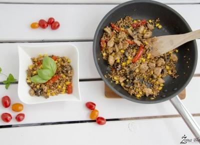 Zona Bloguje - swiat okiem kobiety: Moj powrot do zdrowego odzywiania + fit przepis na obiad