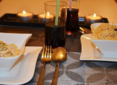 Zona Bloguje - swiat okiem kobiety: Majowkowa kolacja we dwoje
