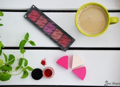 Zona Bloguje - swiat okiem kobiety: Kolorowe pomadki z systemem Freedom od Inglot
