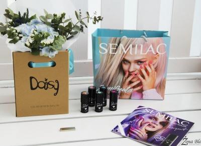 Zona Bloguje - swiat okiem kobiety: Nowa kolekcja SEMILAC - SemiBeats by MARGARET