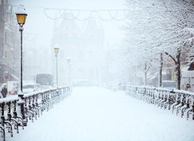 Zima na wyspach | Z pamiętnika Zołzy