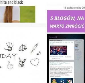 ZUBRZYCANKA: 5 blogów, na które warto zwrócić uwagę