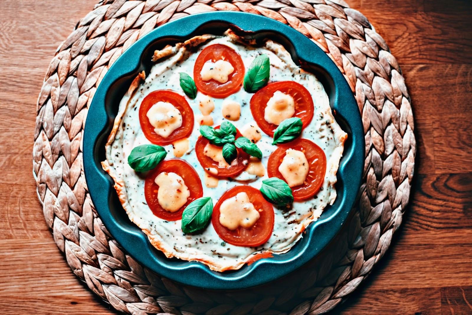 Tarta z ciasta francuskiego z serem Ricotta - Związek na patelni