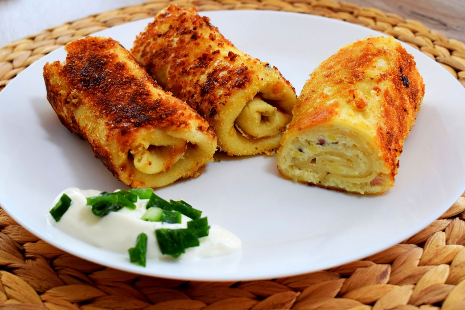 Krokiety z serem na słono - Związek na patelni