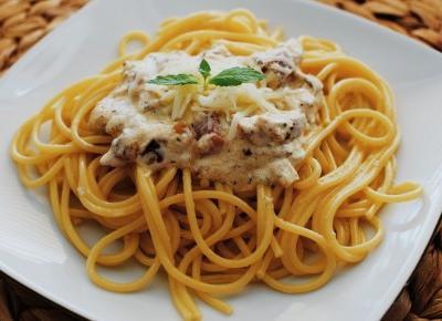 Spaghetti Carbonara - Związek na patelni