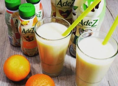 Koktajl z dodatkiem napoju na bazie roślin AdeZ - Związek na patelni