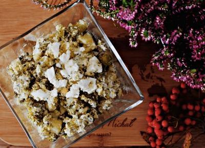 Sałatka z brokułem i ziemniakami - Związek na patelni