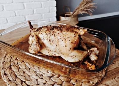 Kurczak z farszem i dodatkami - Związek na patelni