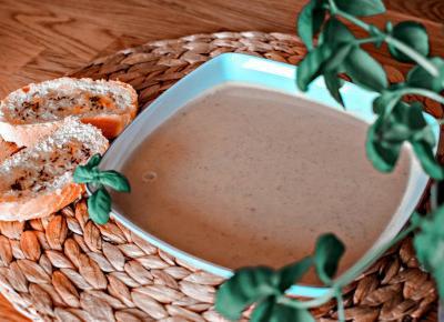 Zupa krem serowo-cebulowa - Związek na patelni