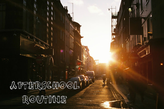Afterschool Routine - friday