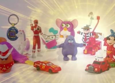 Kultowe zabawki wracają do McDonald's! Furby, Tamagotchi i inne! 😍