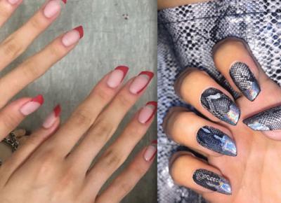 Lipstick Nails, czyli paznokcie w kształcie szminki 💄 Nowy instagramowy trend!
