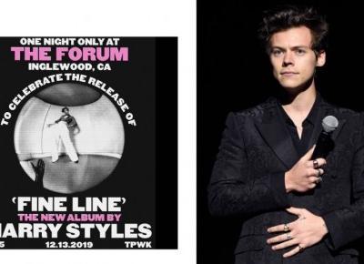 Harry Styles ujawnił datę premiery drugiej płyty! Nowy album ukaże się jeszcze w tym roku! 😍❤️