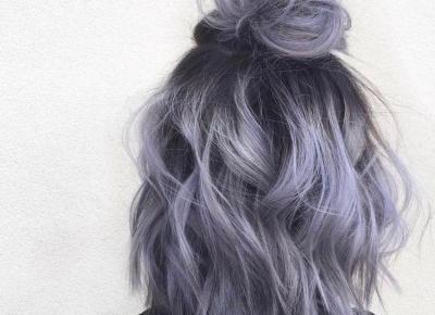 Trendy 2019: Lavender-Gray Hair, czyli modna koloryzacja włosów, która jest hitem Instagrama! 😍
