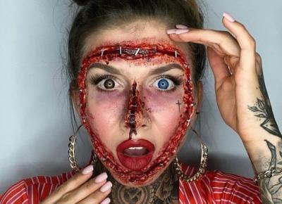 Najlepsze makijaże na Halloween 🎃