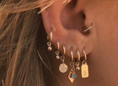 Najpopularniejsze przekłucia uszu 🖤