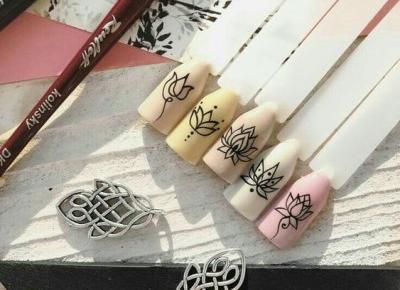 Wzorki na paznokcie - inspiracje!