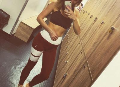 """Adrianna Fajkowska on Instagram: """"Co daje Wam największą moc na treningu ? Dobra muzyka, posiłek przed treningowy, pogoda, dzienna dawka motywacji ? A może to w co jesteście…"""""""
