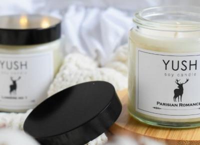 Czym są naturalne świece sojowe? - świece sojowe Yush
