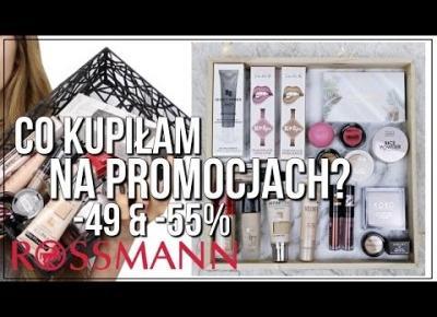 CO KUPIŁAM NA PROMOCJI -49% W ROSSMANNIE & NATURZE? WIELKI HAUL KOSMETYCZNY!