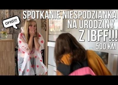 SPOTKANIE NIESPODZIANKA Z IBFF! | VLOG