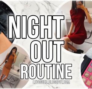 LEVOGUES: NIGHT OUT ROUTINE-OGARNIJ SIĘ W 20 MINUT