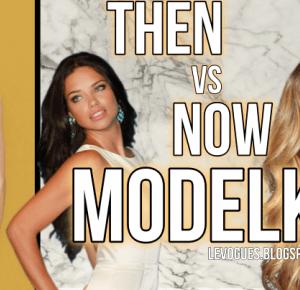 LEVOGUES: Then vs now: MODELKI