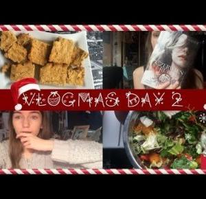 VLOGMAS|2|dlaczego lubię niemiecki|wegańskie ciacho