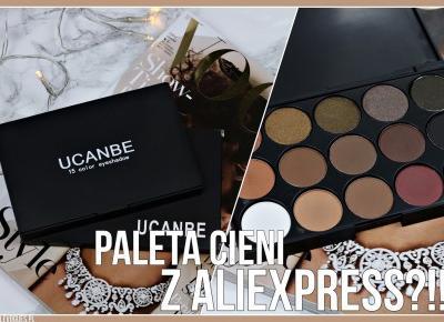 LEVOGUES by Adrienne: PALETA ZA 3$ ALIEXPRESS?!! HIT CZY KIT?