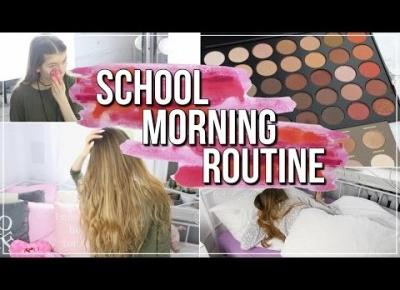 SCHOOL MORNING ROUTINE|PORANNA RUTYNA DO SZKOŁY
