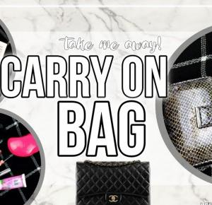 LEVOGUES: TAKE ME AWAY|WHAT IS IN MY CARRY ON BAG?