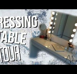 DRESSING TABLE TOUR!
