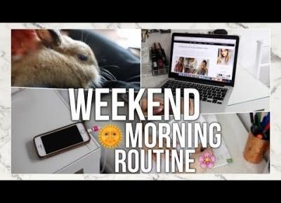 WEEKEND MORNING ROUTINE! PORANNA RUTYNA W WEEKENDY!