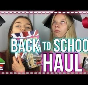 BACK TO SCHOOL:HAUL ft. Zuzia!