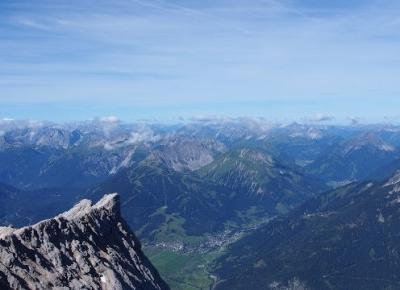 Zugspitze, Alpy Bawarskie