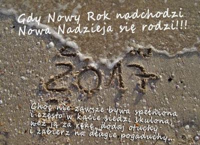 Gdy Nowy Rok nadchodzi uwierz, że coś lepszego się rodzi! - Rytmy Natury