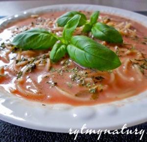 Zupa pomidorowa niezwykle szybka, prosta i zdrowa! - Rytmy Natury