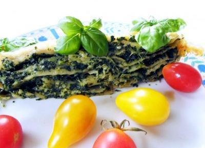 Przepis na lasagne ze szpinakiem, która zawsze się uda!