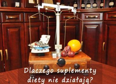 Dlaczego suplementy diety nie działają? - Rytmy Natury