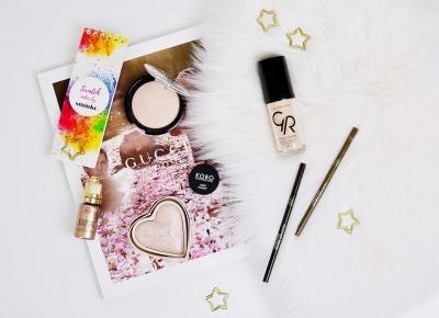KOSMETYKI DROGERYJNE, KTÓRE TRZEBA MIEĆ | WIBO, GOLDEN ROSE, MY SECRET | Agata Welpa MakeUp Blog Beauty- najbardziej kolorowy blog o makijażu.