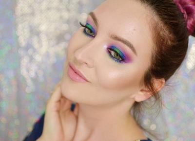 CHABROWO-FIOLETOWE SMOKY EYE | #TUTORIAL | Agata Welpa MakeUp blog beauty