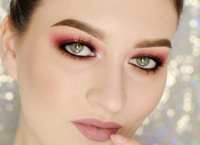 MAKIJAŻ NA WIECZÓR W CIEPŁYCH TONACH | #TUTORIAL | Agata Welpa MakeUp Blog Beauty- najbardziej kolorowy blog o makijażu.