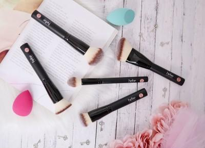 HEBE PĘDZLE I GĄBECZKI DO MAKIJAŻU TWARZY CZ.2 | Agata Welpa MakeUp blog beauty