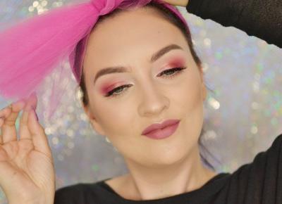 DELIKATNY, RÓŻOWY MAKIJAŻ WIECZOROWY | #TUTORIAL | Agata Welpa MakeUp blog beauty